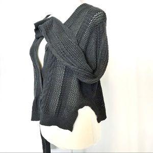 Nordstrom Rubbish waist length cardigan sweater